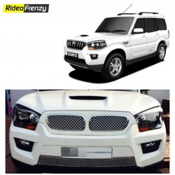 Buy New Mahindra Scorpio BMW Chrome Grill Covers at low prices-RideoFrenzy