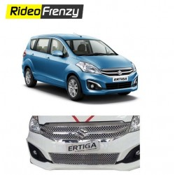 Buy Maruti Ertiga Chrome Grill Covers Upper+Lower at low prices-RideoFrenzy
