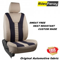 Buy Sweat Proof Fabric Car Seat Cover | Heat Resistant Fabric Neo Beige