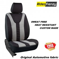 Buy Sweat Proof Fabric Car Seat Cover | Heat Resistant Fabric Neo Black