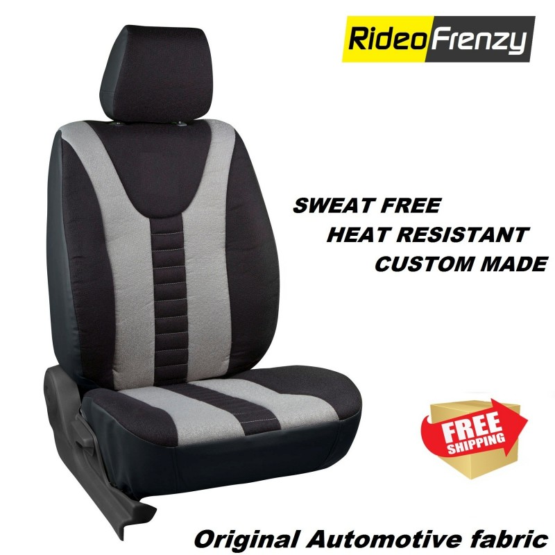 Buy Sweat Proof Fabric Car Seat Covers Online At Low Prices RideoFrenzy