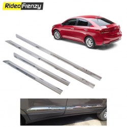 Buy Hyundai VERNA 2017 Wide Chrome Side beading at low prices-RideoFrenzy