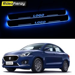 Buy Maruti Dzire 2017 3D Power LED Illuminated Sill/Scuff Plates at low prices-RideoFrenzy