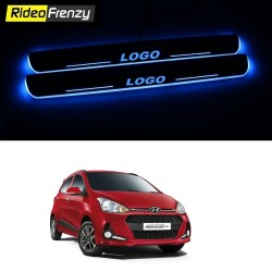 Buy Hyundai Grand i10 3D Power LED Illuminated Sill/Scuff Plates at low prices-RideoFrenzy