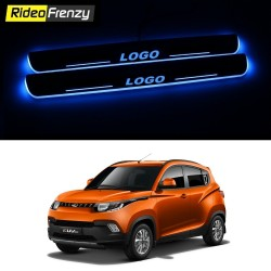 Buy Mahindra KUV100 3D Power LED Illuminated Sill/Scuff Plates-RideoFrenzy