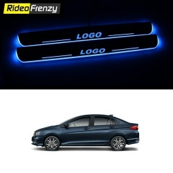Buy Honda City IVTEC/IDTEC 3D Power LED Illuminated Sill/Scuff Plates at low prices-RideoFrenzy