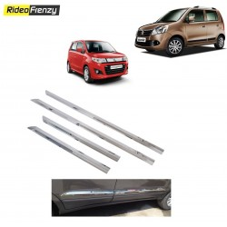 Buy WagonR & Stingray Chrome Side Beading Online at low prices-RideoFrenzy
