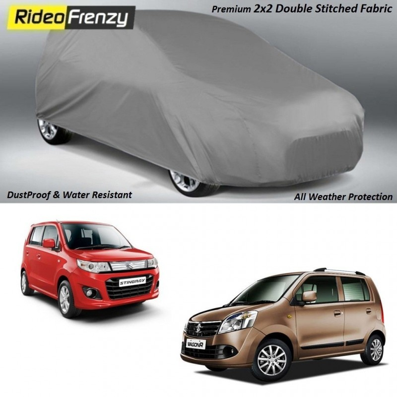 Buy Heavy Duty Double Stiching WagonR & Stingray Body Covers online at low prices-RideoFrenzy