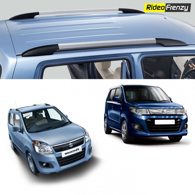 Buy Original OEM Maruti WagonR & Stingray Roof Rails online at low prices-RideoFrenzy