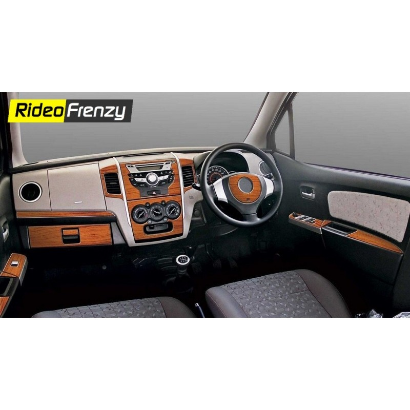 Buy Maruti New Wagon R Wooden Dashboard Trim Kit Online At