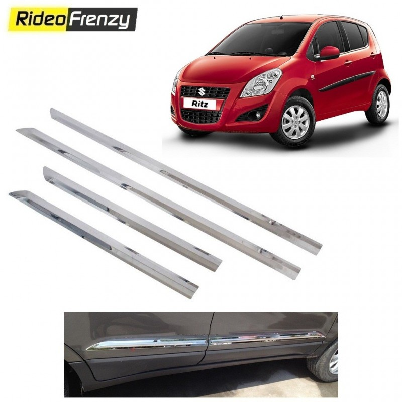 Buy Premium Maruti Ritz Chrome Side Beadiing online at low prices-Rideofrenzy