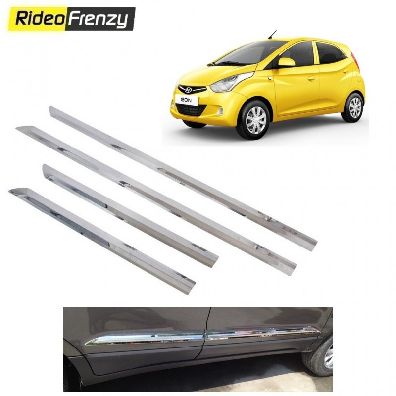 Buy Stainless Steel Hyundai Eon Side Beading online at low prices-RideoFrenzy