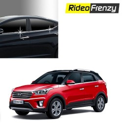 Buy Hyundai Creta Chrome Lower window garnish at low prices-RideoFrenzy