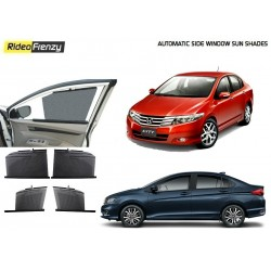 Buy Honda City Ivtec/Idtec Automatic Side Window Sun Shades online at low prices-Rideofrenzy