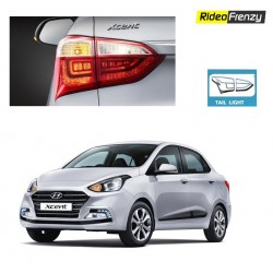 Buy New Hyundai Xcent Chrome Tail Light Covers online at low prices-RideoFrenzy