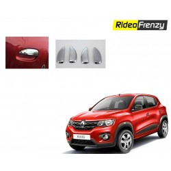 Buy Renault Kwid Chrome Handle Covers online at low prices-RideoFrenzy