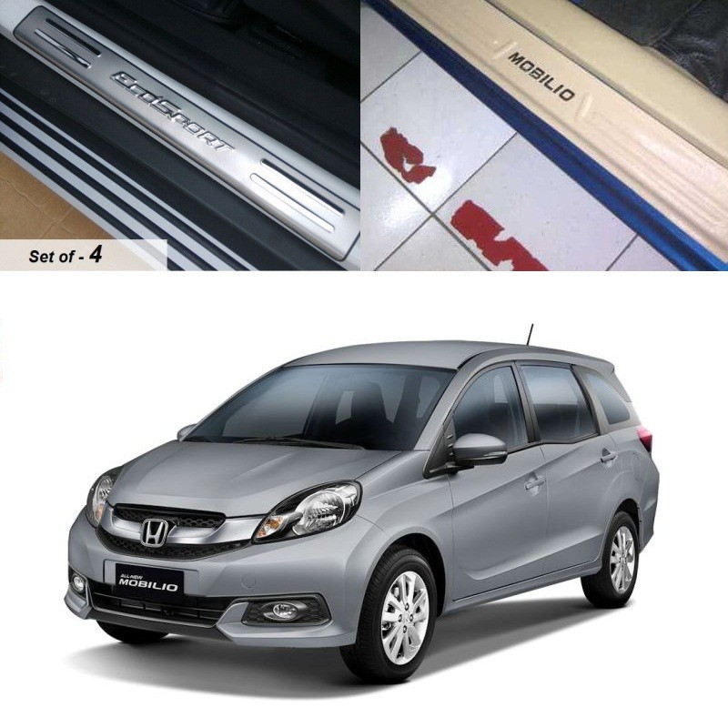 Buy Honda Mobilio Stainless Steel Sill Plates online at low prices-RideoFrenzy