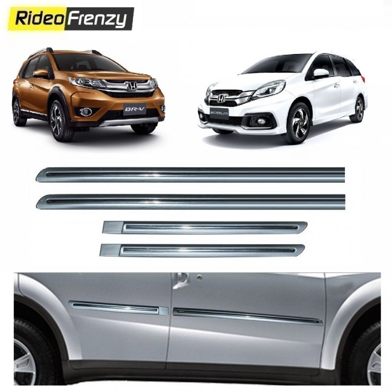 Buy Honda Mobilio Brv Silver Chromed Side Beading Online At Low