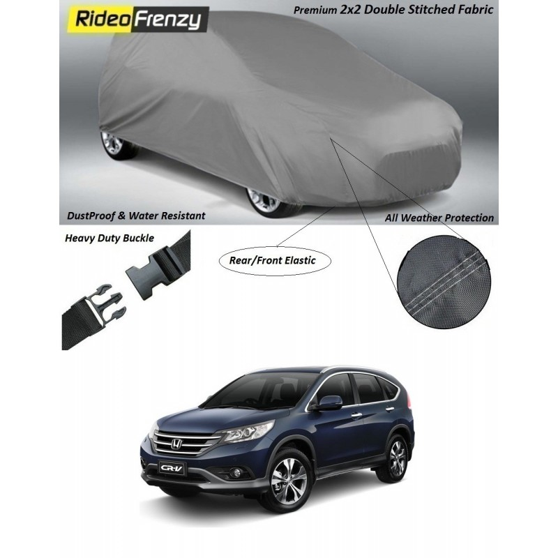 Buy Heavy Duty Honda CRV Car Body Cover online at low prices-RideoFrenzy