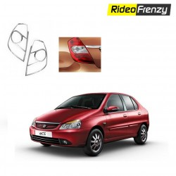 Buy Tata Indigo CS Chrome Tail Light Covers online at low prices-RideoFrenzy