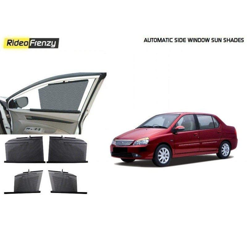 Buy Tata Indigo Automatic Side Window Sun Shades online at low prices-RideoFrenzy