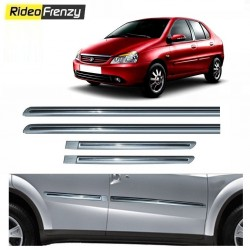 Buy Tata Indigo Silver Chromed Side Beading online at low prices-RideoFrenzy