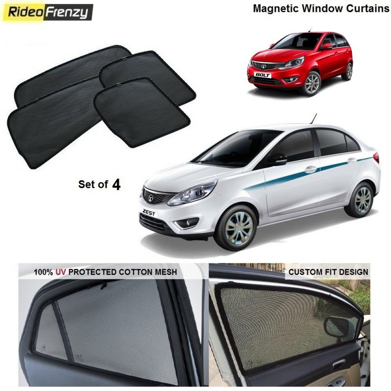 Buy Tata Zest & Bolt Magnetic Car Window Sunshade online at low prices-RideoFrenzy