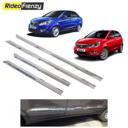 Buy Stainless Steel Tata Zest & Bolt Chrome Side Beading online at low prices-RideoFrenzy