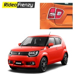 Buy Maruti Ignis Chrome Tail Light Covers online at Low prices-RideoFrenzy