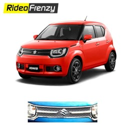 Buy Maruti Ignis Chrome Grill Covers online at Low prices-RideoFrenzy
