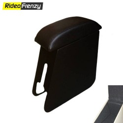 Buy Vitara Brezza Front Armrest Online India | Drill free & Custom Fit | Leather Wrapped