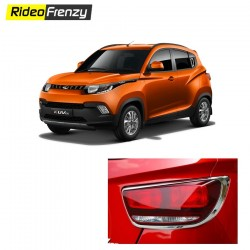 Buy Mahindra KUV100 Chrome Tail light Covers online at low prices-RideoFrenzy