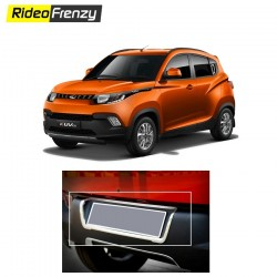 Buy Mahindra KUV100 Number Plate Cover Outline online at low prices-RideoFrenzy