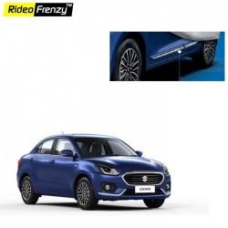 Buy Maruti Suzuki Dzire 2017 Chrome Plated Side Beading | Original OE Type