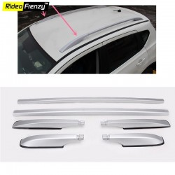 Buy Premium Silver Highline Roof Rails online at low prices-RideoFrenzy