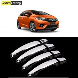 Buy Honda Jazz Door Chrome Handle Covers online at low prices-RideoFrenzy