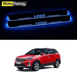 Buy Hyundai Creta 3D Power LED Illuminated Sill/Scuff Plates at low prices-RideoFrenzy