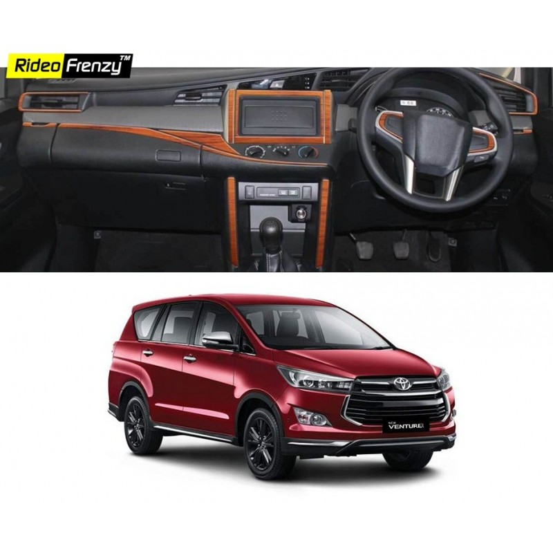 Buy Innova Crysta Wooden Dashboard Kit Online At Low