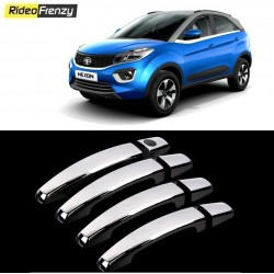 Buy Door Chrome Catch/Handle Cover for Tata Nexon at low prices-RideoFrenzy