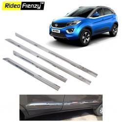 Buy Tata NEXON Stainless Steel Chrome Side Beading-RideoFrenzy