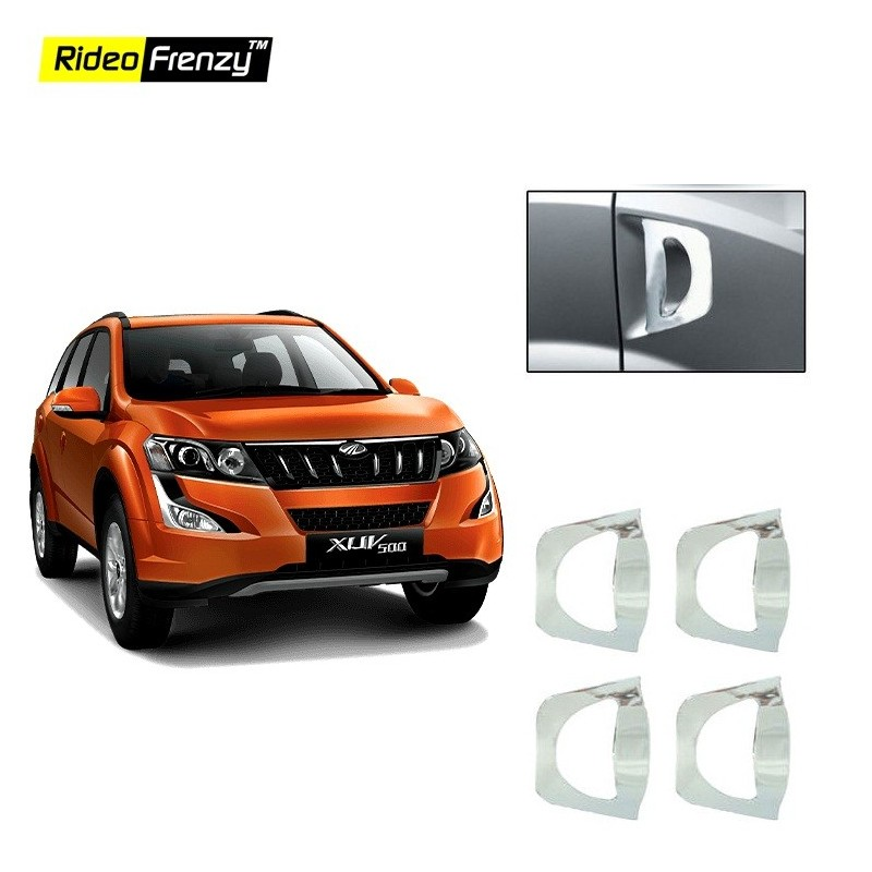 Buy Mahindra XUV500 Door Chrome Handle Covers online at low prices-Rideofrenzy
