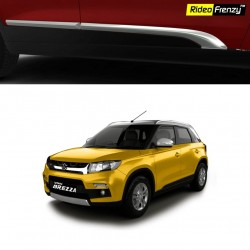 Buy Vitara Brezza Original Chrome Side Moulding Online | 100% Genuine