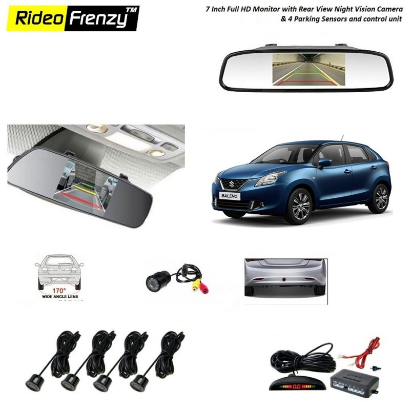 Buy Maruti Baleno Reverse Parking Camera Online At Best Prices