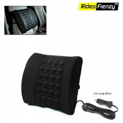 Buy Black Car Seat Vibrating Massage Cushion Online | 100% Original