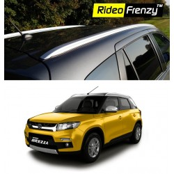 Buy Vitara Brezza Silver Roof Rails Online India | Limited Stock | Free Shipping