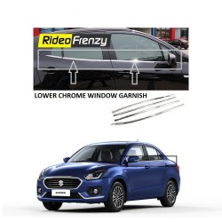Buy New Dzire 2017 Chrome Lower window garnish at low prices-RideoFrenzy