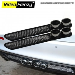AMG Style Double Cylinder Decorative Exhaust