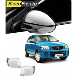 Buy Maruti Alto Chrome Mirror Covers online at low prices-Rideofrenzy