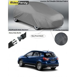 Buy Heavy Duty Double Stiching Maruti S-CROSS Body Cover at low prices-RideoFrenzy
