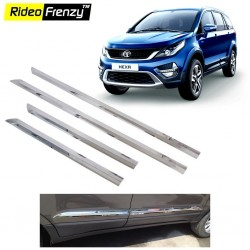 Buy Stainless Steel Tata Hexa Chrome Side Beading online at low prices-RideoFrenzy